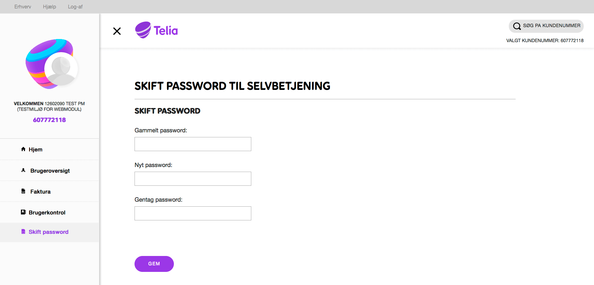 telia default password