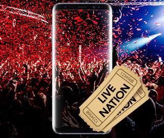 Samsung GS8 Live Nation