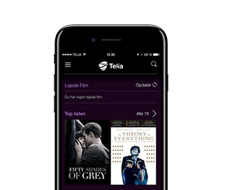 Film og serier med Telia tv og Apple tv