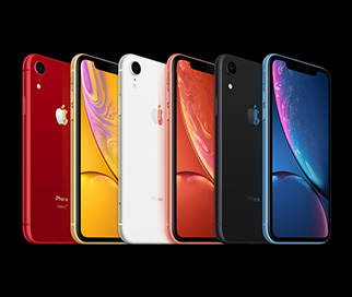 iPhone XR farver