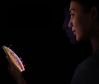 iPhone XS og XS Max Face ID
