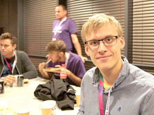 Mickey, Mathias and Mattias are Hackathon-ready