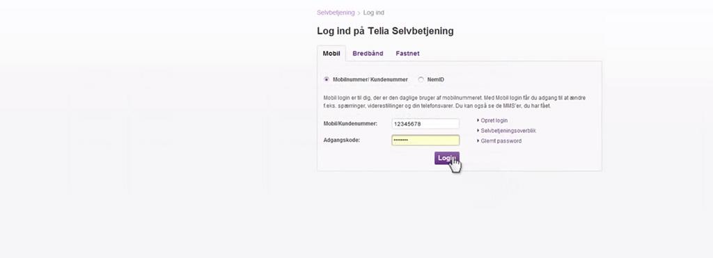 Sidste nye Selvbetjening af mobil, bredbånd, TV og fastnet | Telia BA-68